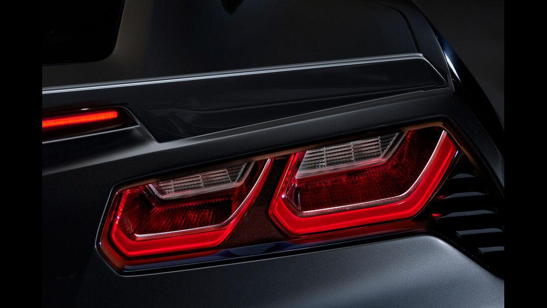 01/2013 Chevrolet Corvette, Rückleuchten