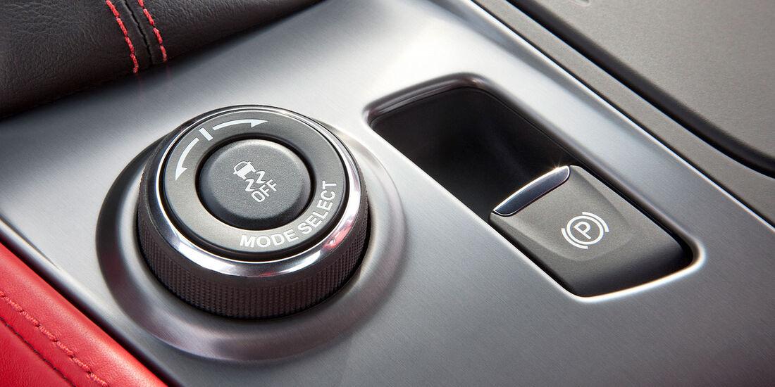 01/2013 Chevrolet Corvette, Startknopf