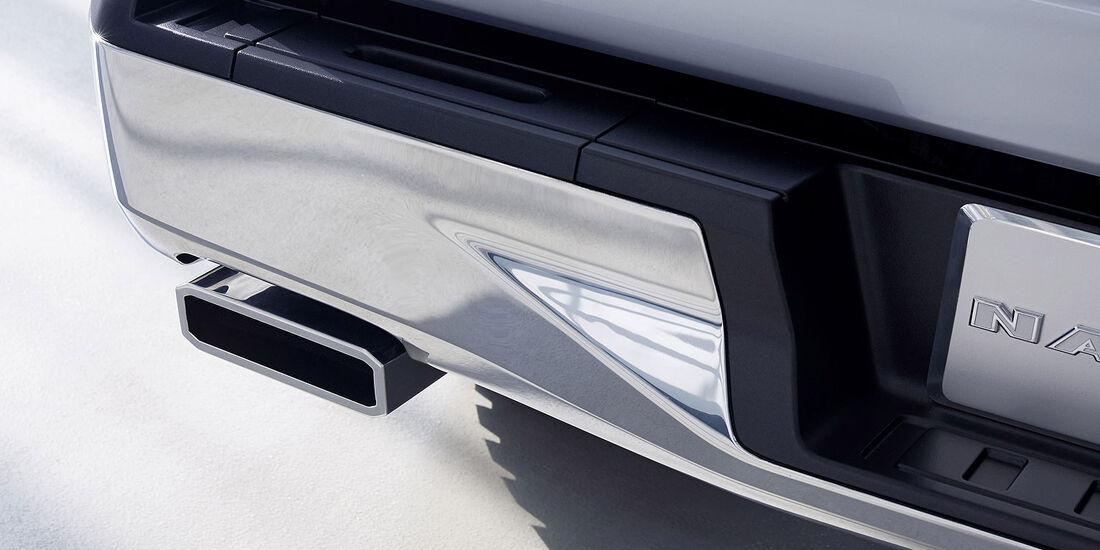 01/2013 Ford Atlas Concept, Auspuff