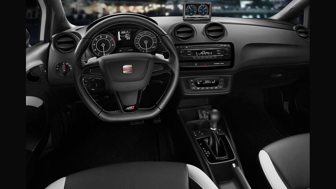 01/2013 Seat Ibiza Cupra, Innenraum