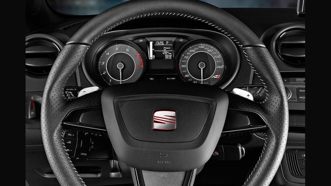 01/2013 Seat Ibiza Cupra, Lenkrad