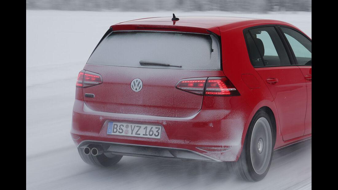 01/2013 VW Golf Abnahmefahrten Polarkreis, Golf GTD