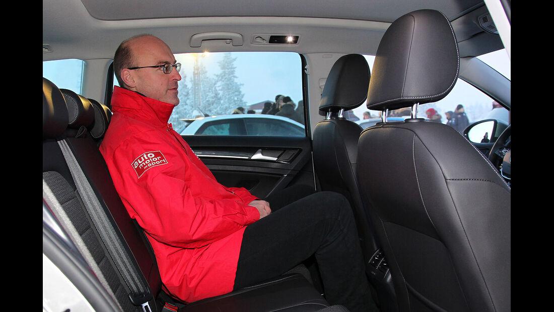 01/2013 VW Golf Abnahmefahrten Polarkreis, Golf Variant, Ralp Alex