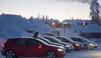 01/2013 VW Golf Abnahmefahrten Polarkreis, Gruppenbild