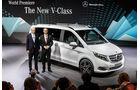01/2014, Mercedes V-Klasse, Präsentation