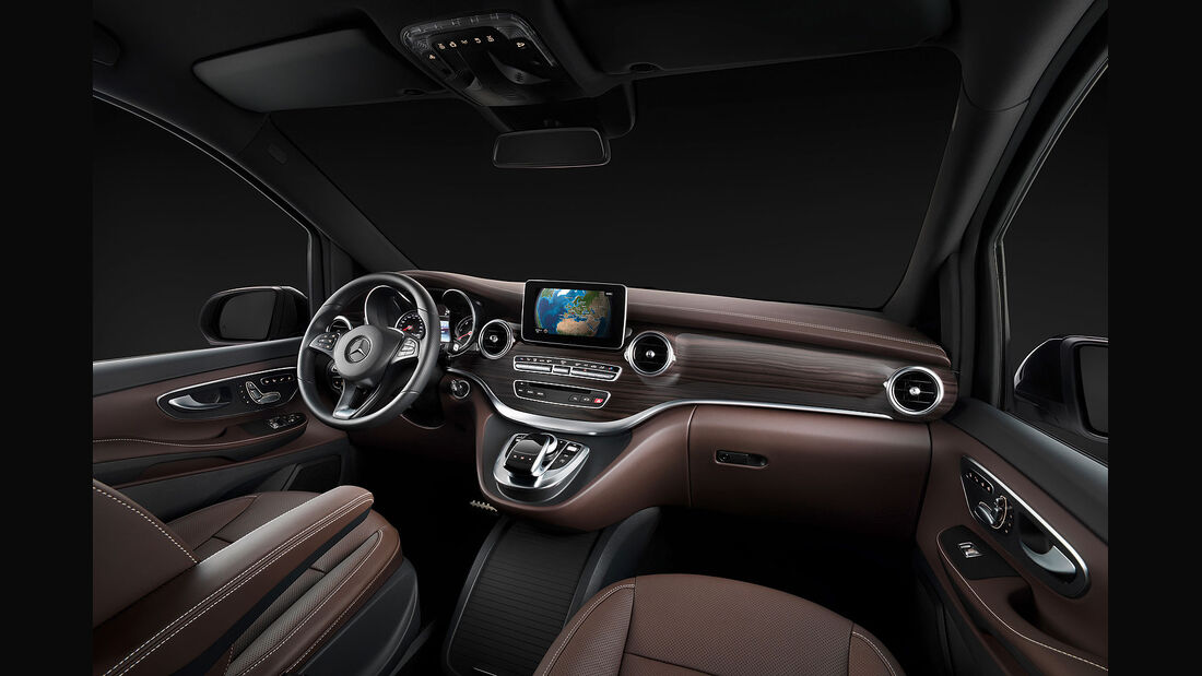 01/2014, Mercedes V-Klasse, Sperrfrist 30.1.2014 21.00 Uhr