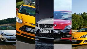01/2014 Seat Leon Cupra Kompakte Vergleich
