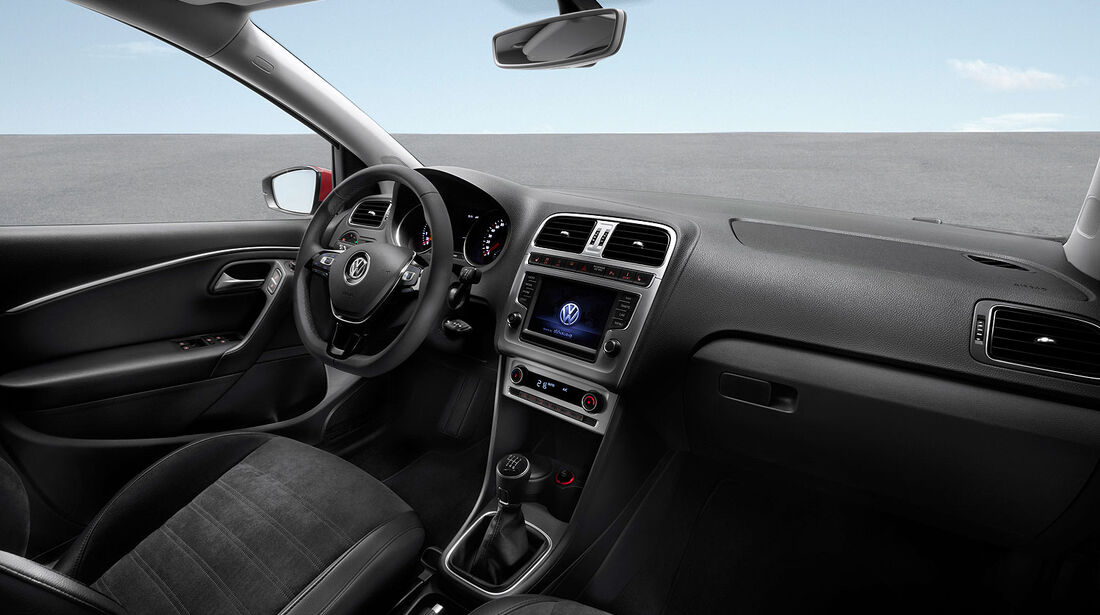 01/2014, VW Polo 2014 Facelift, Innenraum