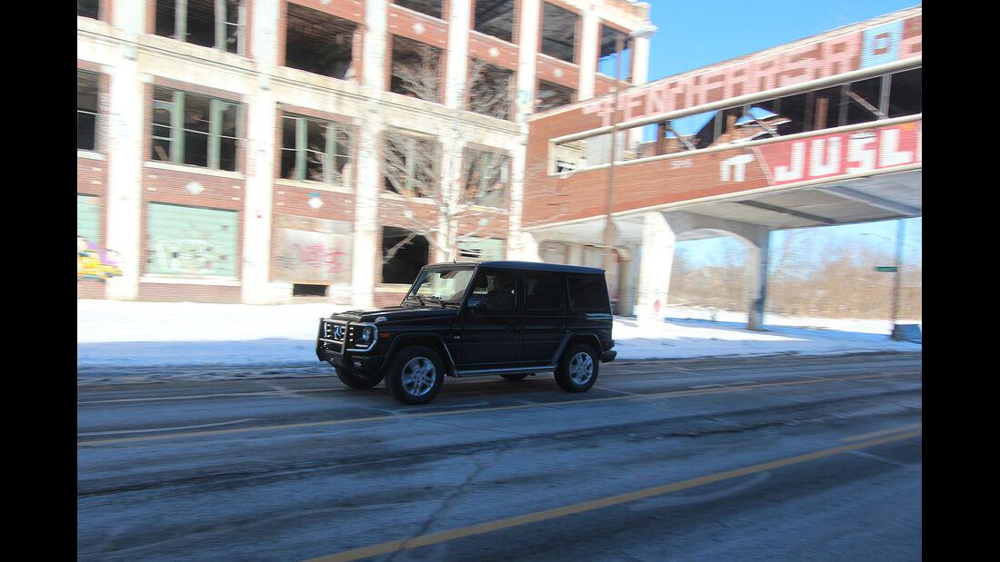 01/2015, Impression Mercedes G500 Detroit