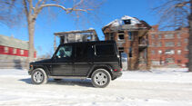 01/2015, Impression Mercedes G500 Detroit