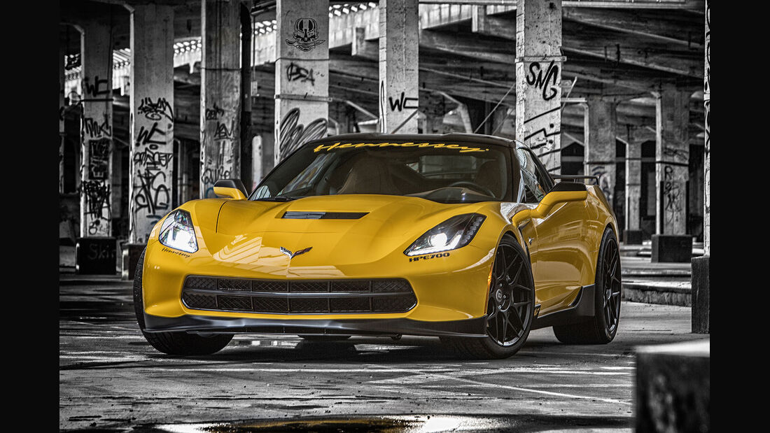 01/2015, Rüffer Performance Corvette C7 Stingray HPE700.