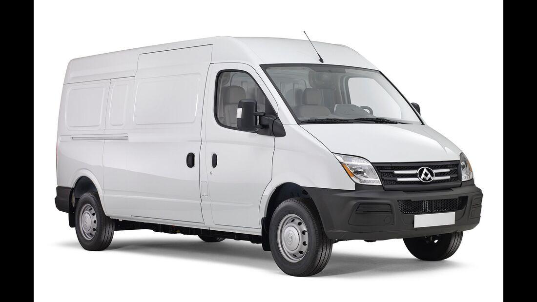 01/2018, Elektrotransporter Maxus EV80