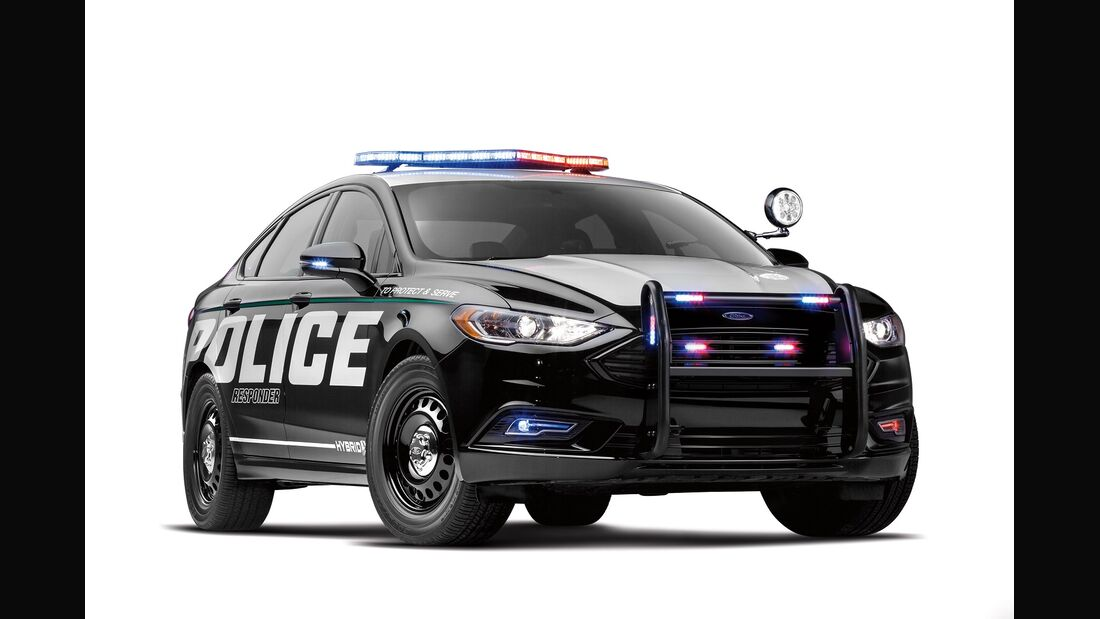 01/2018, Ford automome Polizeiautos