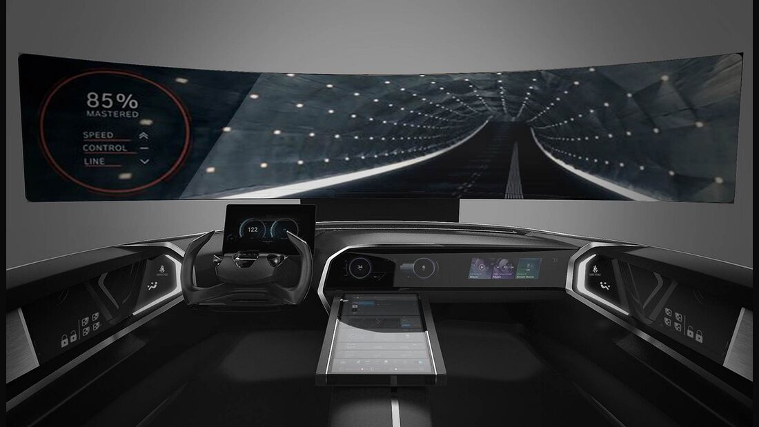01/2018, Hyundai Cockpit Studie CES 2018