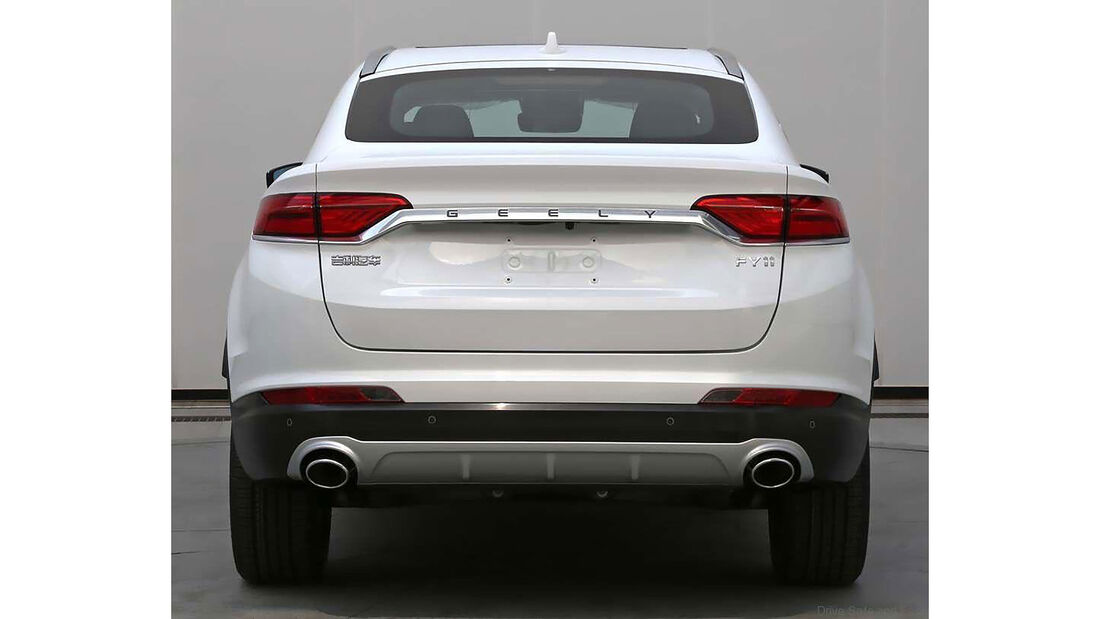 01/2019, Geely FY11 SUV-Coupe