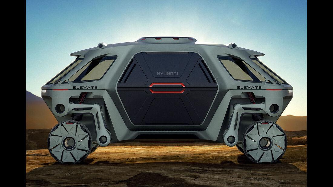 01/2019, Hyundai Elevate Walking Car Concept