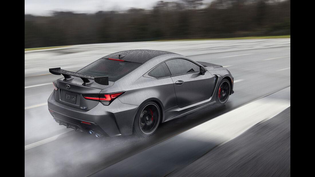 01/2019, Lexus RC F Track Edition