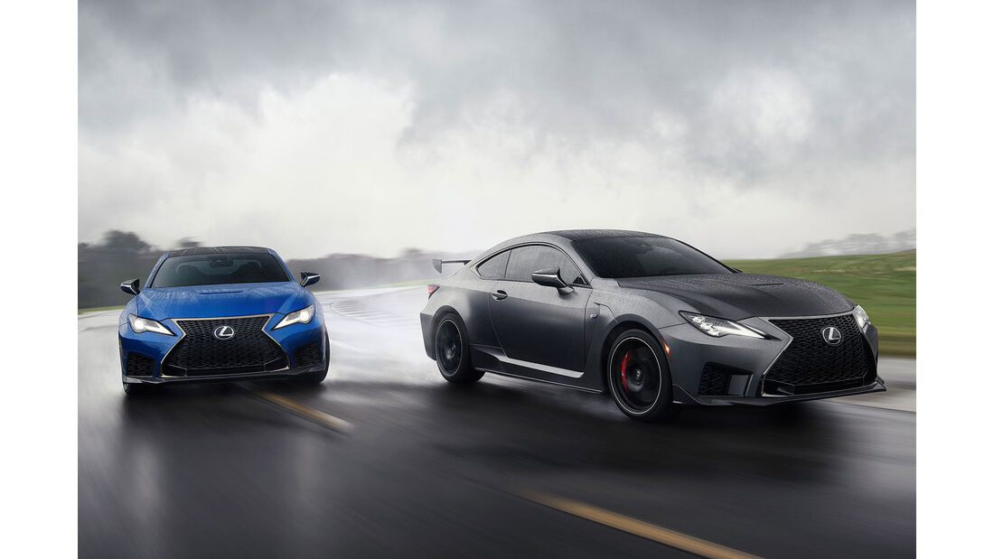 01/2019, Lexus RC F und RC F Track Edition