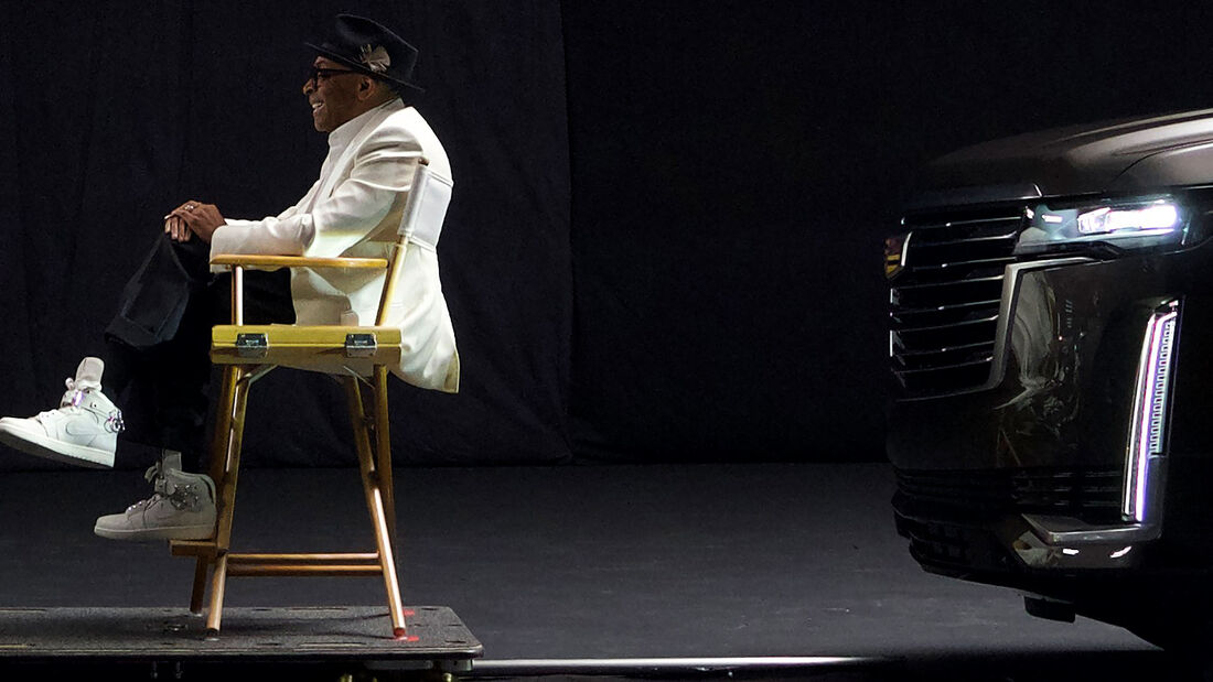01/2020, 2021 Cadillac Escalade mit Spike Lee