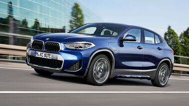 01/2020, BMW X2 xDrive25e Plugin-Hybrid