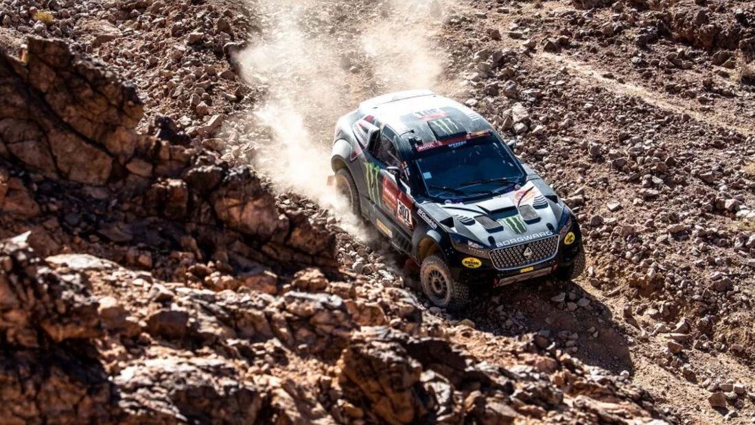 01/2020, Borgward BX7 Rally Car