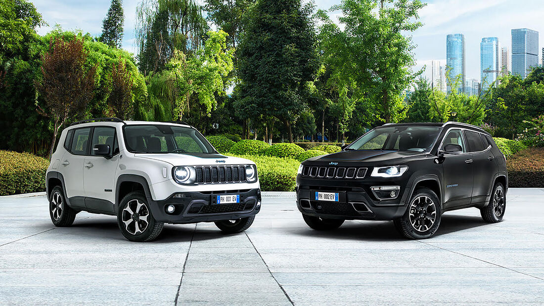 01/2020, Jeep Renegade und Compass 4xe