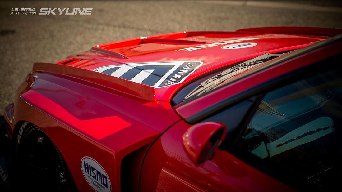 01/2020, Liberty Walk Nissan Skyline R34 Widebody