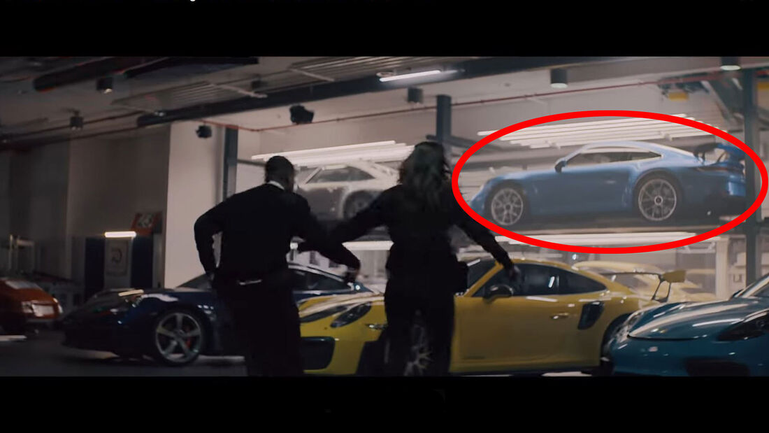01/2020, Porsche 911 GT3 992 Super Bowl Werbespot