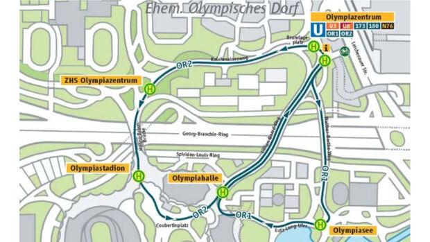 01/2020, Route E.Go Mover München Olympiapark