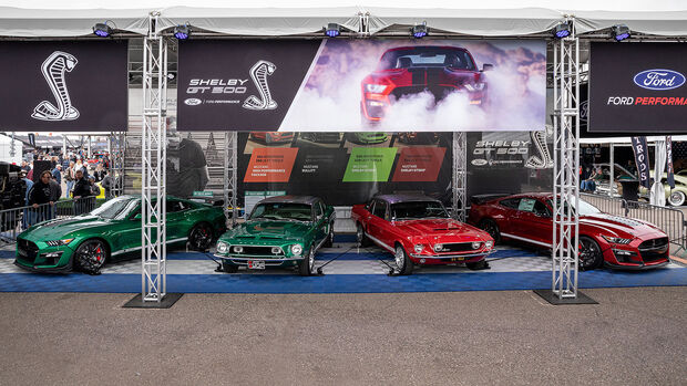 01/2020, Shelby Mustang Prototypen Green Hornet und Little Red