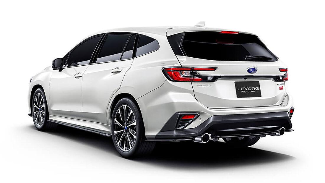 01/2020, Subaru Levorg Prototype STI Sport