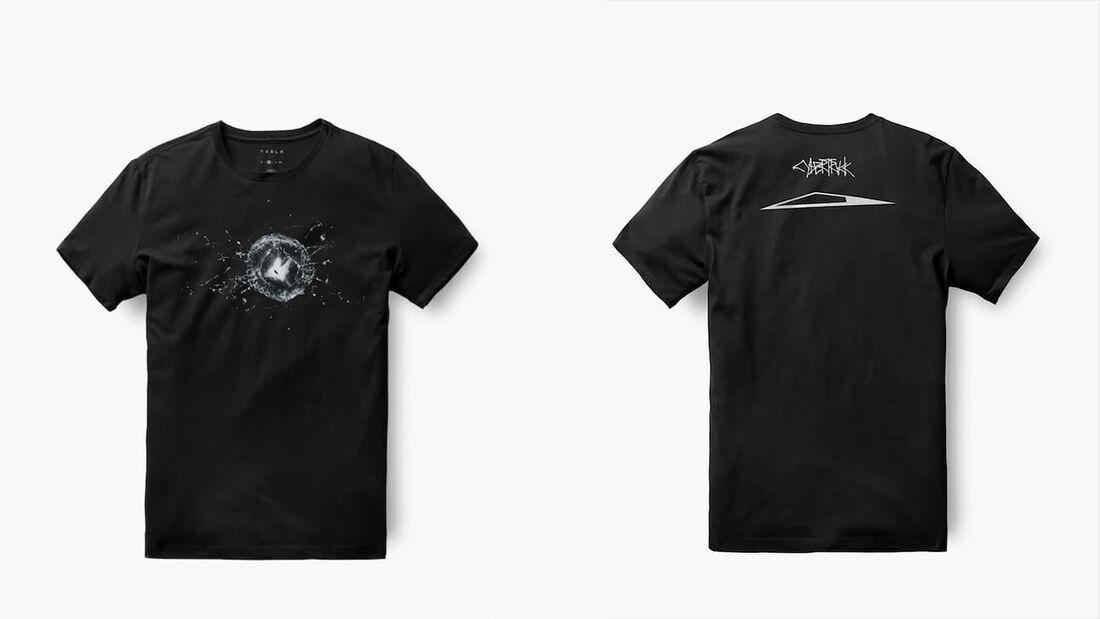 01/2020, Tesla Cybertruck T-Shirt