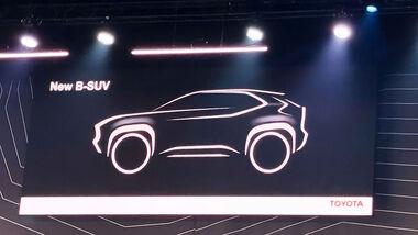 01/2020, Toyota Yaris B-Segment-SUV