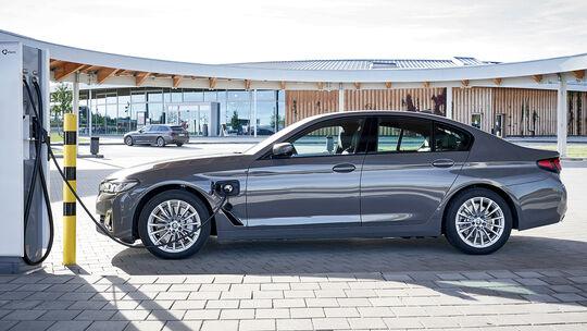 01/2021, BMW 520e Limousine Plug-in-Hybrid