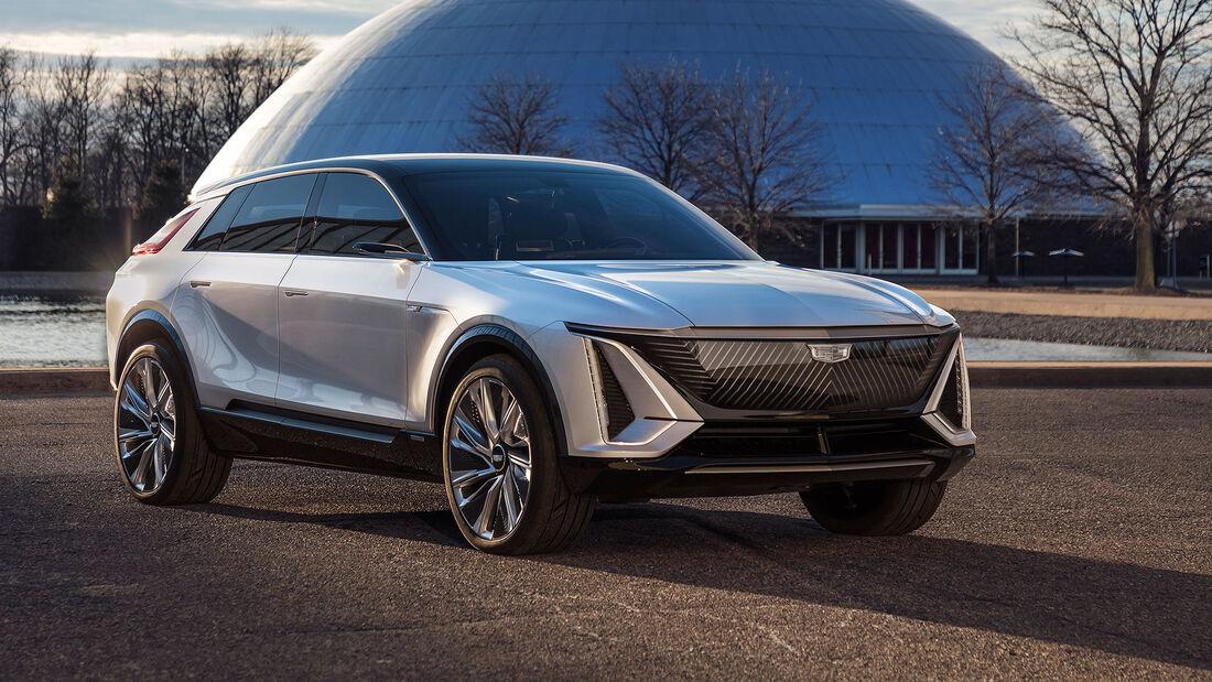 01/2021, Cadillac Lyriq