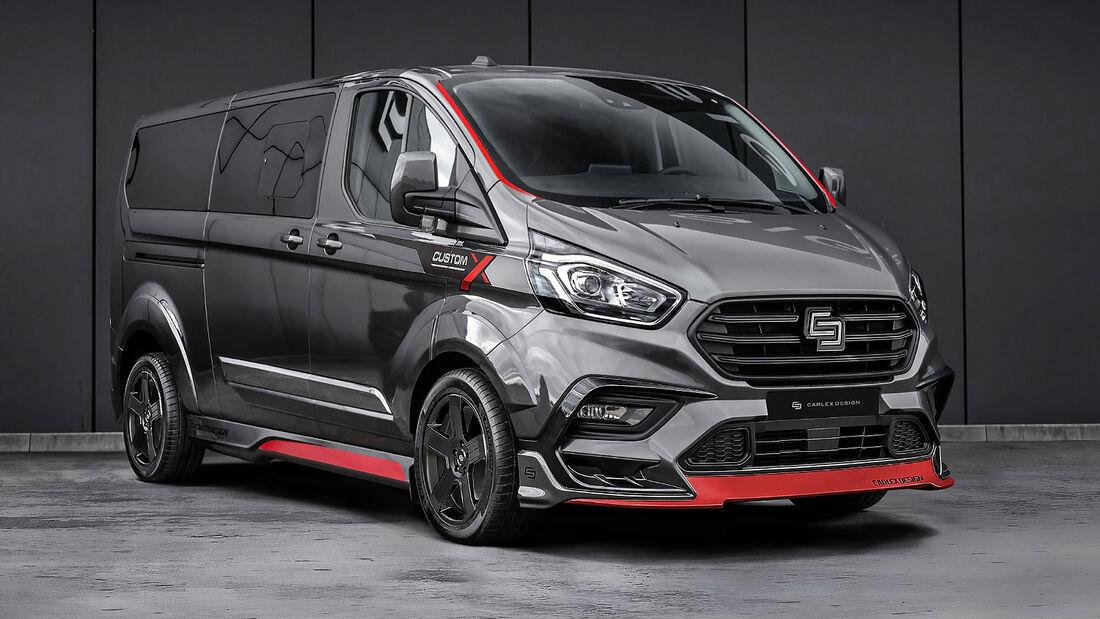 01/2021, Ford Transit Custom von Carlex Design