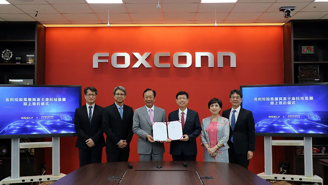 01/2021, Geely Foxconn Joint Venture