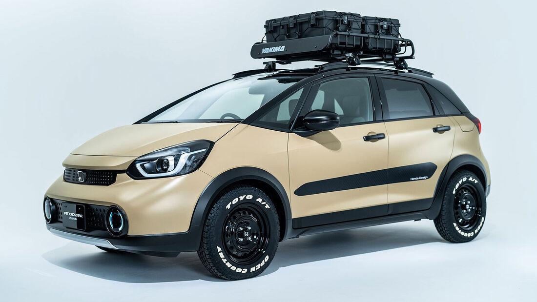 01/2021, Honda Fit Jazz e:HEV Crosstar Custom für den Tokyo Auto Salon