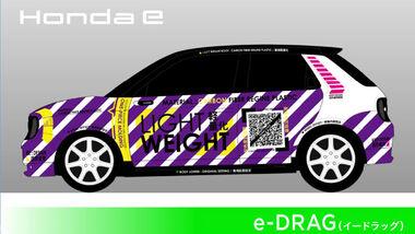 01/2021, Honda e Drag Racer für den Tokyo Auto Salon