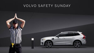 01/2021, Volvo Super Bowl Werbeaktion Safety Sunday 2021