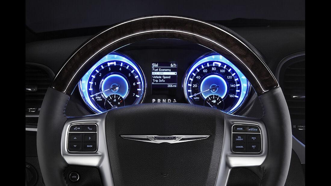 0111, Chrysler 300 C, Instrumente
