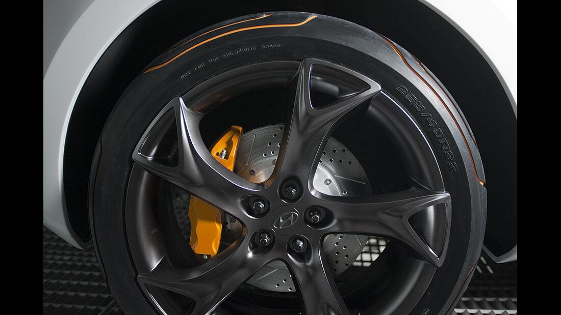 0111, Hyundai Curb Concept, Felge, rad
