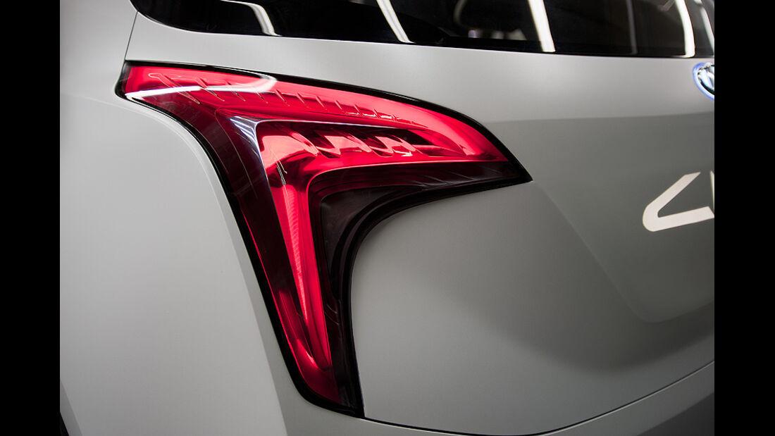 0111, Hyundai Curb Concept, Rücklicht