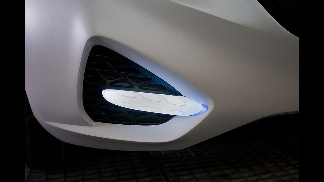 0111, Hyundai Curb Concept, Scheinwerfer