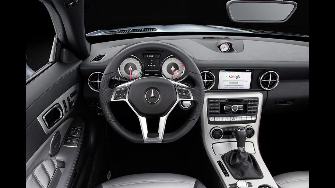 0111, Mercedes SLK, Innenraum