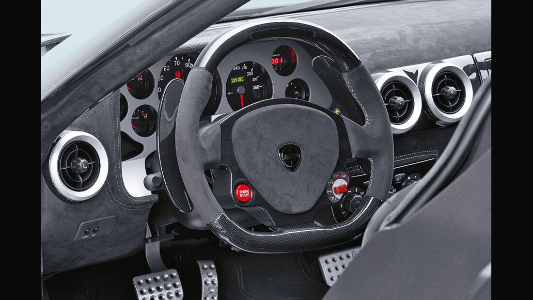 0111, New Stratos, Cockpit, Innenraum