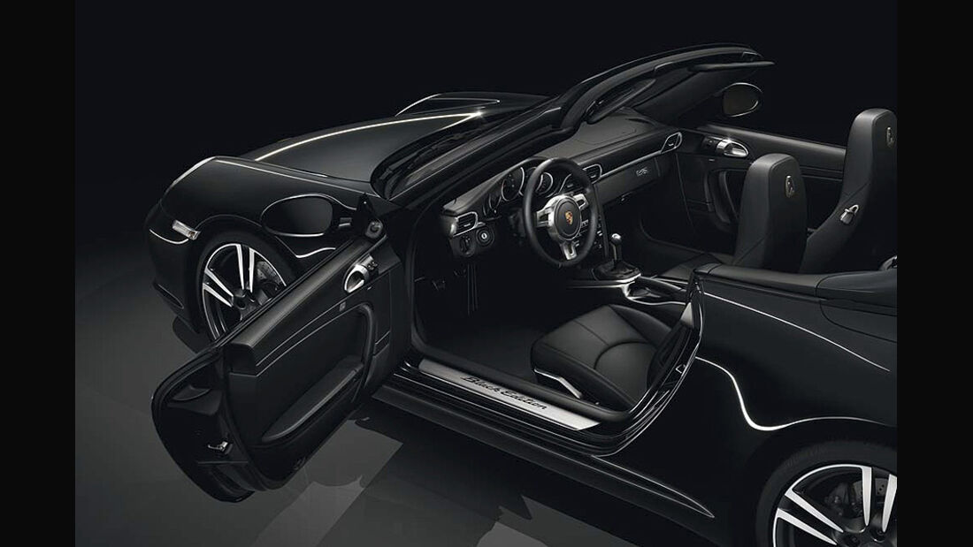 0111, Porsche 911 Sondermodell Black Edition, Innenraum