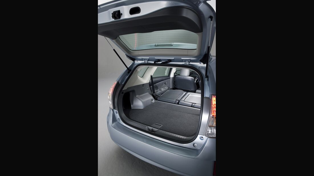 0111, Toyota Prius V, Heckklappe, Kofferraum