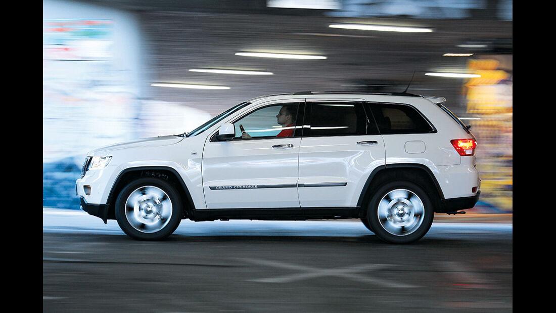 0111, ams 01/2011, Jeep Grand Cherokee 3.6 V6 Overland