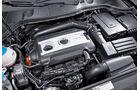 0111, ams 02/2011, VW Passat 1.8 TSI Limousine, Motor